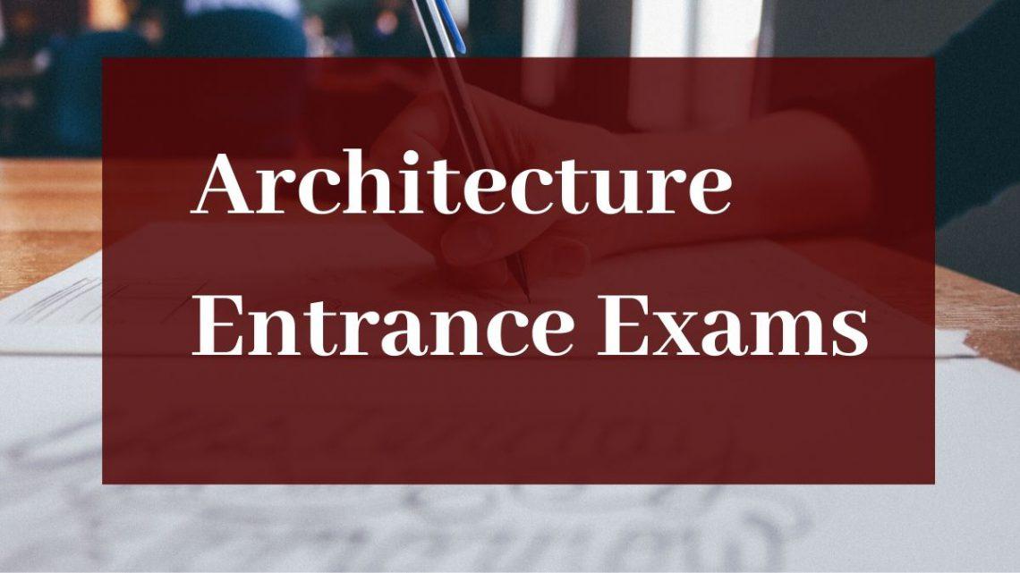 Architecture Entrance Exams