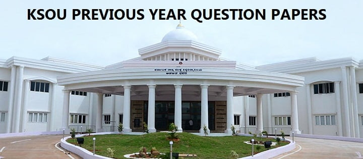 KSOU Previous Year Question Papers
