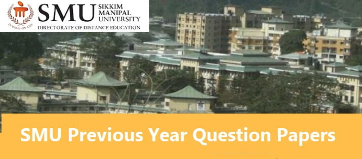 sikkim manipal university-previous year question paper