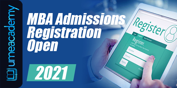 MBA Admission open 2021