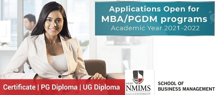 NMIMS School of Business-Management Mumbai Admission 2021