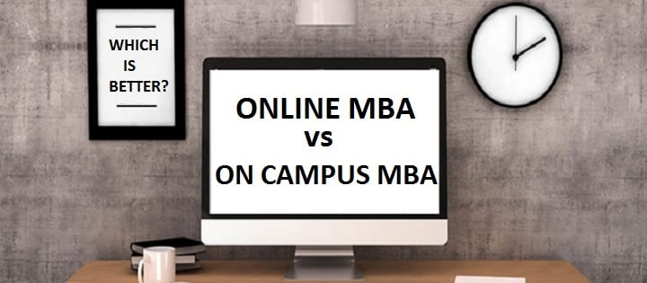 Online MBA vs On Campus MBA
