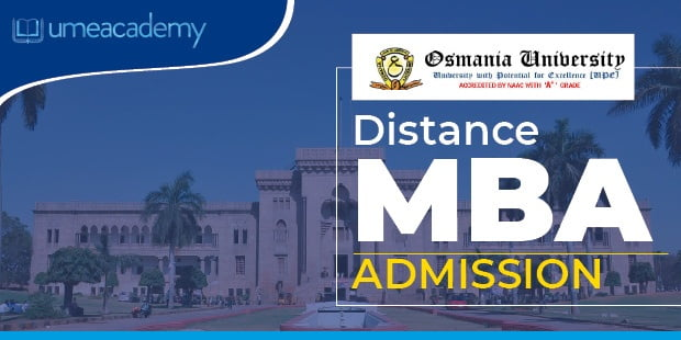 Osmania University distance Learning admissions