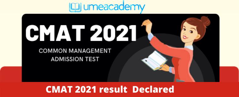 CMAT 2021 result Declared