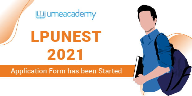 LPU NEST 2021 Application Form