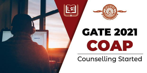 GATE 2021 COAP Counselling Started