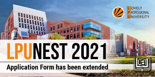 LPUNEST 2021 Application Form Extended
