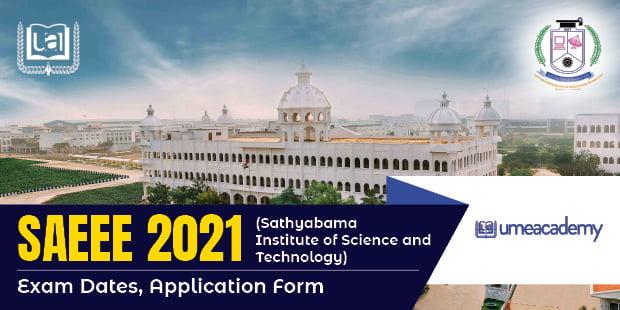 SAEEE 2021 Exam