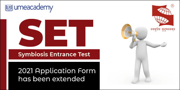 Symbiosis Entrance Test (SET) 2021 Application form has been extended