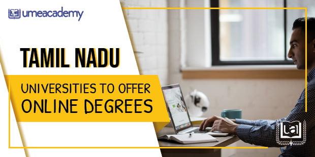 Tamil Nadu universities offering online degrees