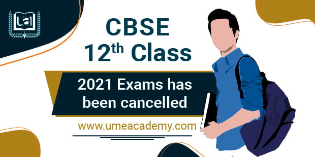 cbse 12th exam cancelled