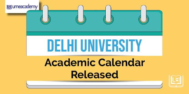 DU Academic Calender released
