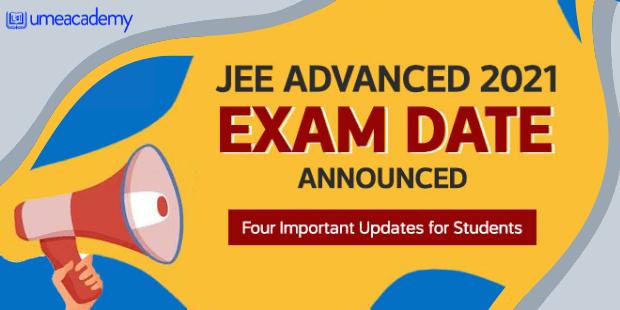 IIT JEE Advanced exam announced