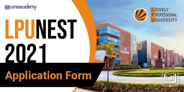 LPUNEST 2021 Application Form