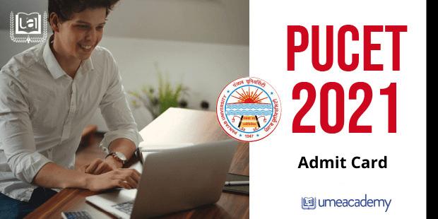 PUCET-2021-Admit-Card