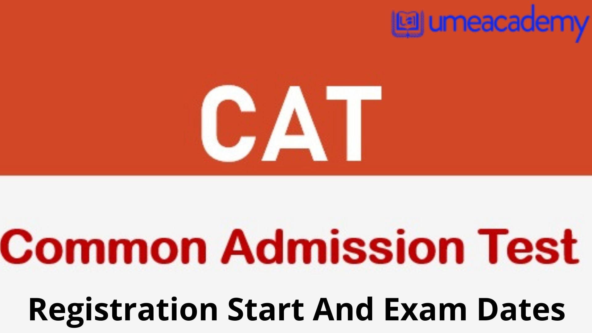 CAT 2022 Registration Start