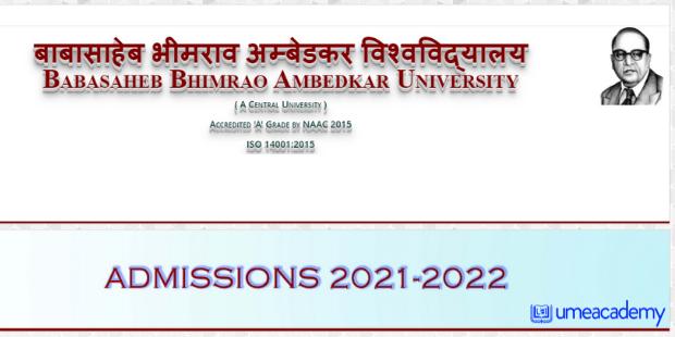 BBAU Admission 2021
