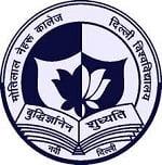 Motilal Nehru College logo