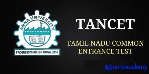 Tamil Nadu TANCET admission
