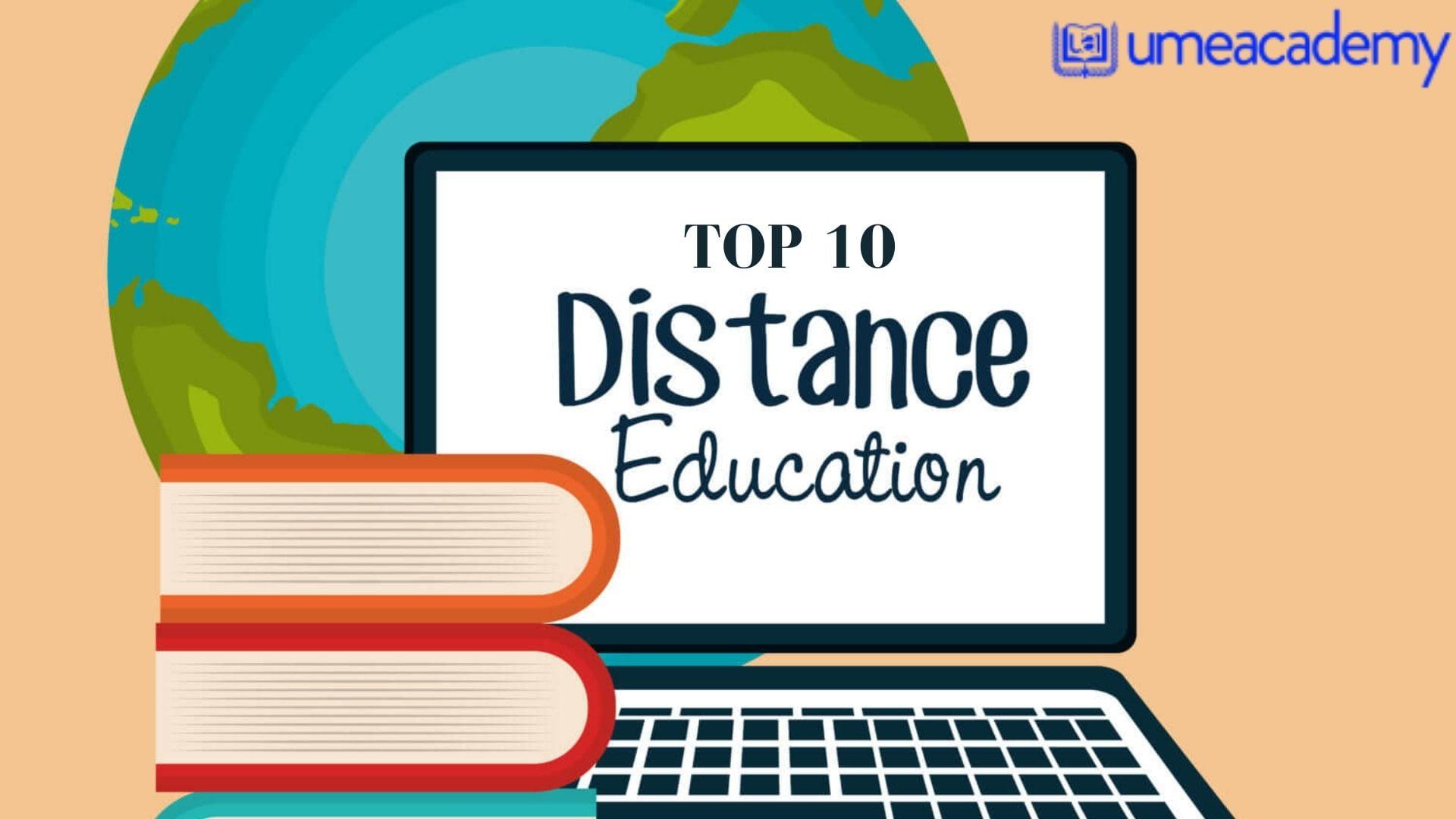 Top 10 distance education