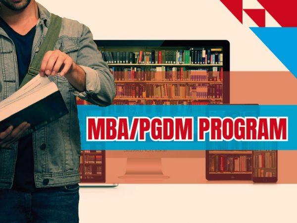 MBA PGDM PROGRAM